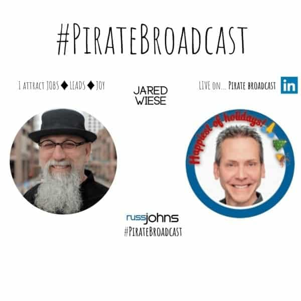 Jared J. Wiese of ProfilesThatPOP interviewed on the Pirate Broadcast Show