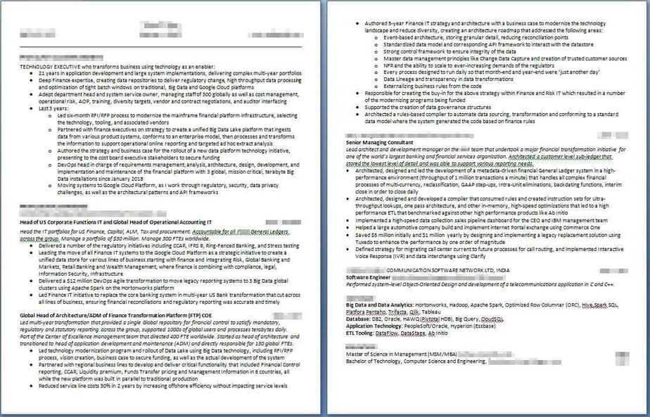Resume Examples - 1 Technology Executive AFTER - #profilesthatpop.com Jared J. Wiese - Resume Writing Services - LinkedIn Profile Writing Service - Career Coaching